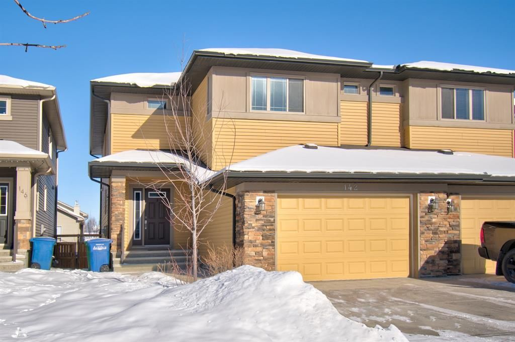 Main Photo: 142 Sagewood Drive SW: Airdrie Semi Detached for sale : MLS®# A1068631
