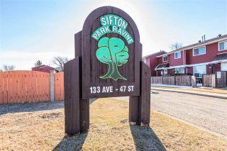 Photo 43: 13307 47 Street in Edmonton: Zone 35 Townhouse for sale : MLS®# E4238571