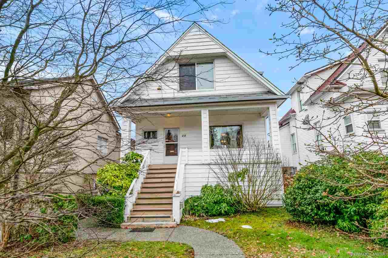 Main Photo: 48 E 41ST Avenue in Vancouver: Main House for sale (Vancouver East)  : MLS®# R2541710