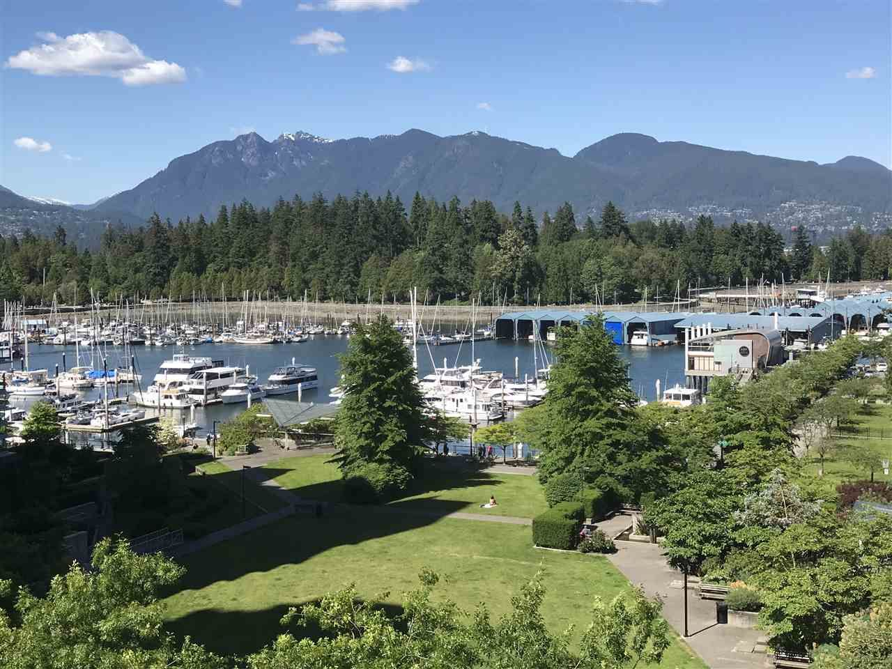 Main Photo: 603 1680 BAYSHORE DRIVE in Vancouver: Coal Harbour Condo for sale (Vancouver West)  : MLS®# R2294621
