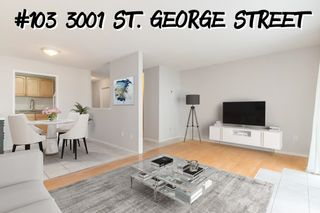Main Photo: 103 3001 ST.GEORGE Street in Port Moody: Port Moody Centre Condo for sale : MLS®# R2626859