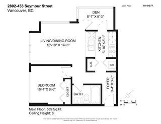 """Photo 27: 2802 438 SEYMOUR Street in Vancouver: Downtown VW Condo for sale in """"The Residences at Conference Plaza"""" (Vancouver West)  : MLS®# R2592278"""