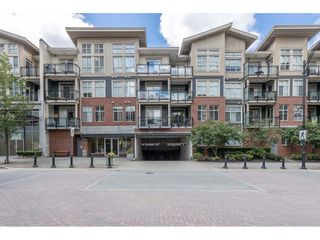 "Photo 1: 108 101 MORRISSEY Road in Port Moody: Port Moody Centre Condo for sale in ""LIBRA"" : MLS®# R2518989"