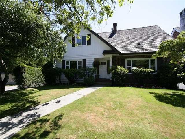 Main Photo: 1026 W 48TH Avenue in Vancouver: South Granville House for sale (Vancouver West)  : MLS®# V1050268
