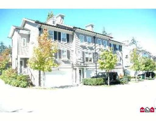 """Main Photo: 18 15075 60TH Avenue in Surrey: Sullivan Station Townhouse for sale in """"Natures Walk"""" : MLS®# F2920958"""