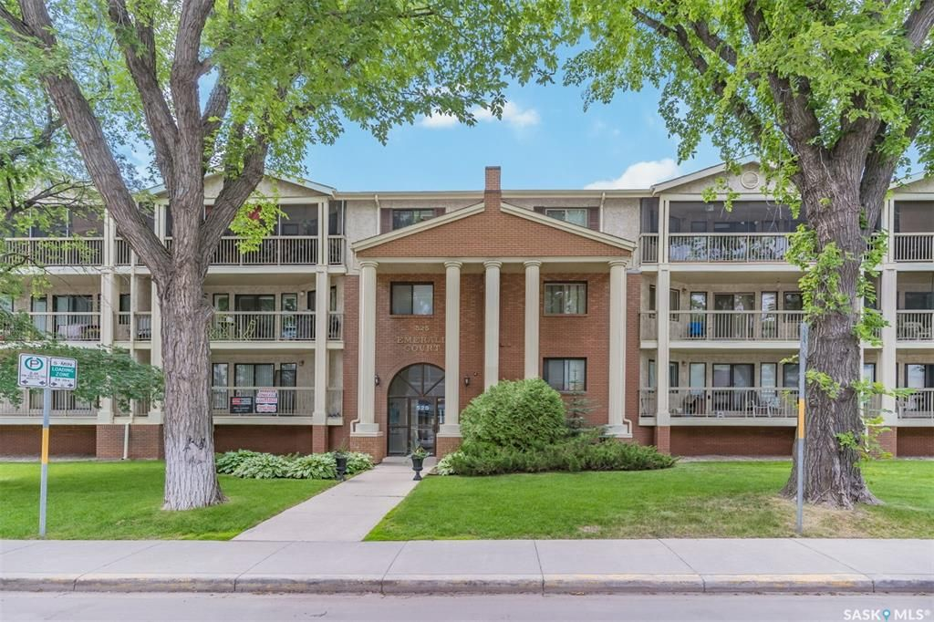 Main Photo: 307 525 5th Avenue North in Saskatoon: City Park Residential for sale : MLS®# SK861178