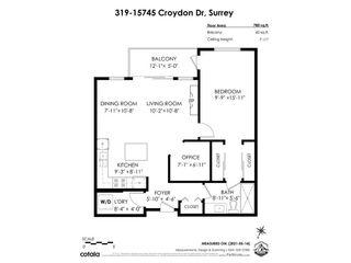"""Photo 23: 319 15745 CROYDON Drive in Surrey: Grandview Surrey Condo for sale in """"Focus at Morgan Crossing"""" (South Surrey White Rock)  : MLS®# R2579646"""
