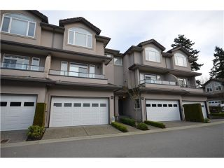 """Photo 1: 65 678 CITADEL Drive in Port Coquitlam: Citadel PQ Townhouse for sale in """"CITADEL POINTE"""" : MLS®# V1012676"""