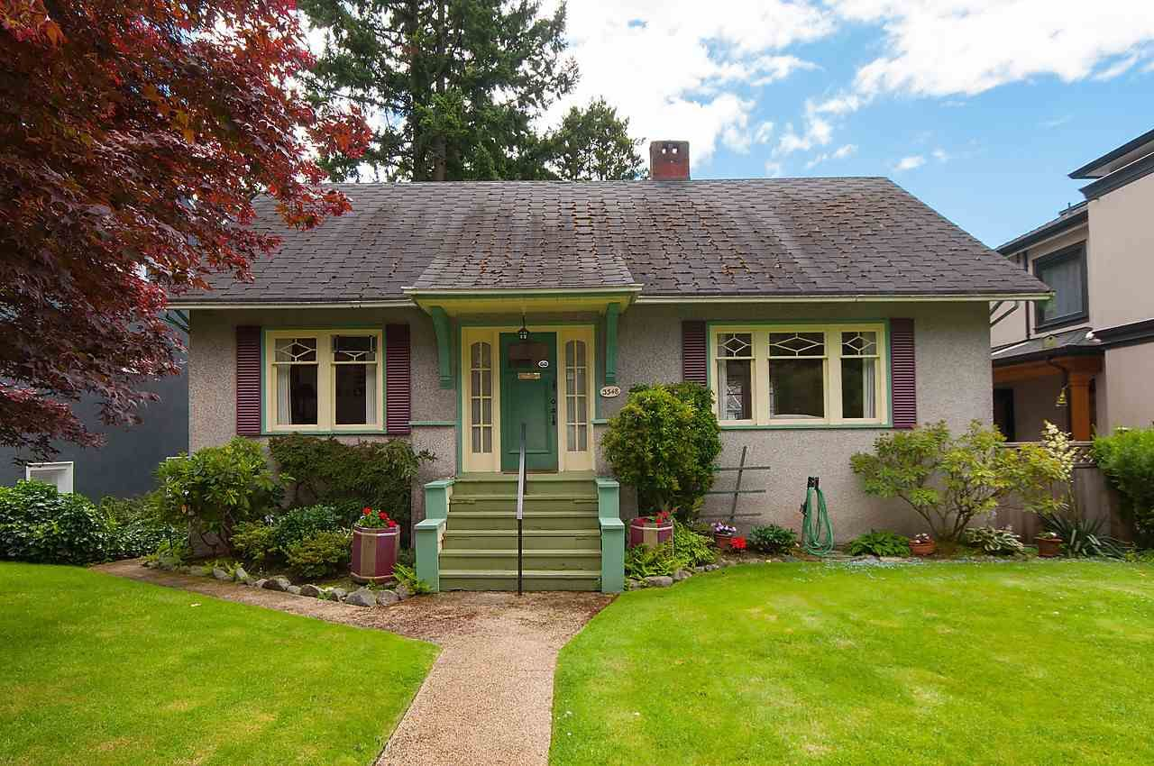 Main Photo: 3548 W 37TH Avenue in Vancouver: Dunbar House for sale (Vancouver West)  : MLS®# R2091183