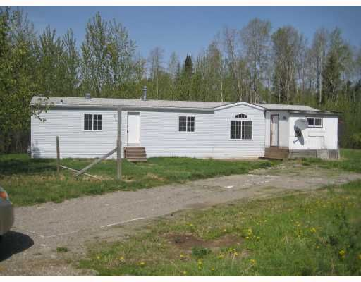 """Main Photo: 1292 GOOSE COUNTRY Road in Prince_George: Old Summit Lake Road Manufactured Home for sale in """"OLD SUMMIT LAKE RD"""" (PG City North (Zone 73))  : MLS®# N190010"""