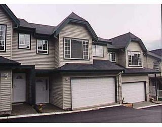"""Photo 1: 15 7465 MULBERRY Place in Burnaby: The Crest Townhouse for sale in """"SUNRIDGE"""" (Burnaby East)  : MLS®# V706667"""