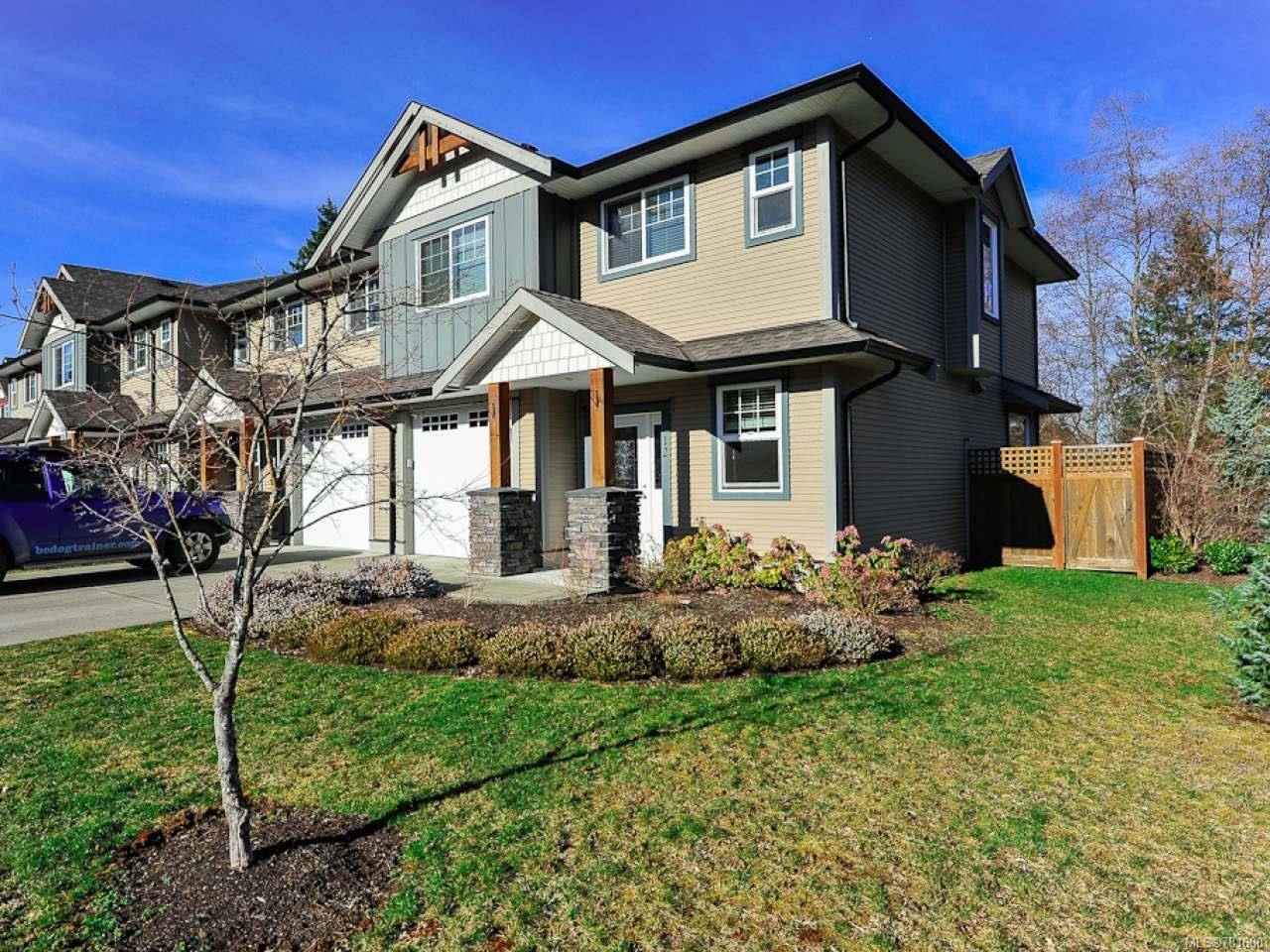 Main Photo: 12 2112 CUMBERLAND ROAD in COURTENAY: CV Courtenay City Row/Townhouse for sale (Comox Valley)  : MLS®# 781680
