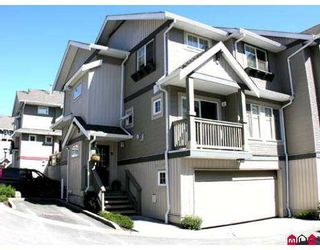 """Photo 1: 35 6651 203RD Street in Langley: Willoughby Heights Townhouse for sale in """"Sunscape"""" : MLS®# F2719428"""
