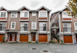 """Photo 1: 28 2689 PARKWAY Drive in Surrey: King George Corridor Townhouse for sale in """"ALLURE"""" (South Surrey White Rock)  : MLS®# R2619611"""