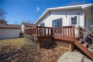 Photo 19: 228 Worthington Avenue in Winnipeg: St Vital Residential for sale (2D)  : MLS®# 1905170