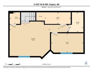 Photo 35: 2 1927 36 Street SW in Calgary: Killarney/Glengarry Row/Townhouse for sale : MLS®# A1146349