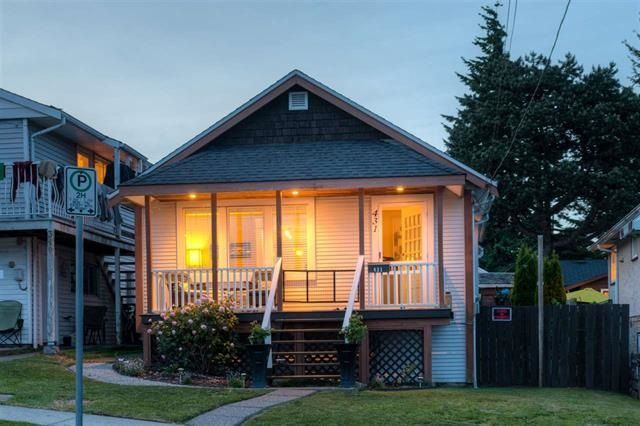 """Main Photo: 431 SCHOOL Street in New Westminster: The Heights NW House for sale in """"Victory Heights"""" : MLS®# R2246365"""