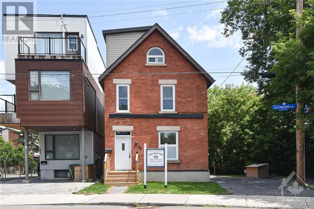 Main Photo: 99 CONCORD STREET N in Ottawa: House for sale : MLS®# 1266152