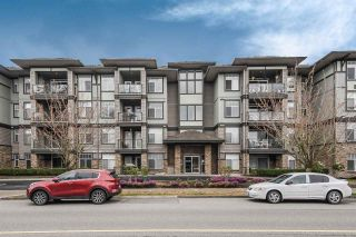 """Photo 1: 308 33338 MAYFAIR Avenue in Abbotsford: Central Abbotsford Condo for sale in """"The Sterling"""" : MLS®# R2356695"""