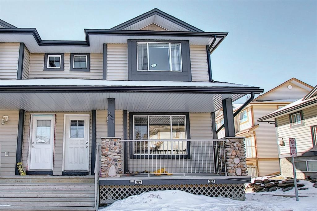 Main Photo: 321 Citadel Point NW in Calgary: Citadel Row/Townhouse for sale : MLS®# A1074362
