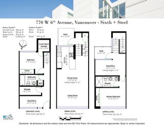 Photo 20: 770 W 6TH AVENUE in Vancouver: Fairview VW Townhouse for sale (Vancouver West)  : MLS®# R2341844