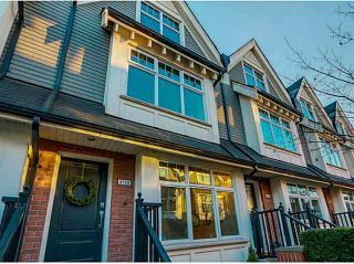 """Photo 1: 3732 WELWYN Street in Vancouver: Victoria VE Townhouse for sale in """"Stories"""" (Vancouver East)  : MLS®# V1095770"""