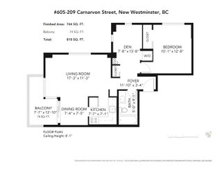 Photo 21: 605 209 CARNARVON Street in New Westminster: Downtown NW Condo for sale : MLS®# R2617003