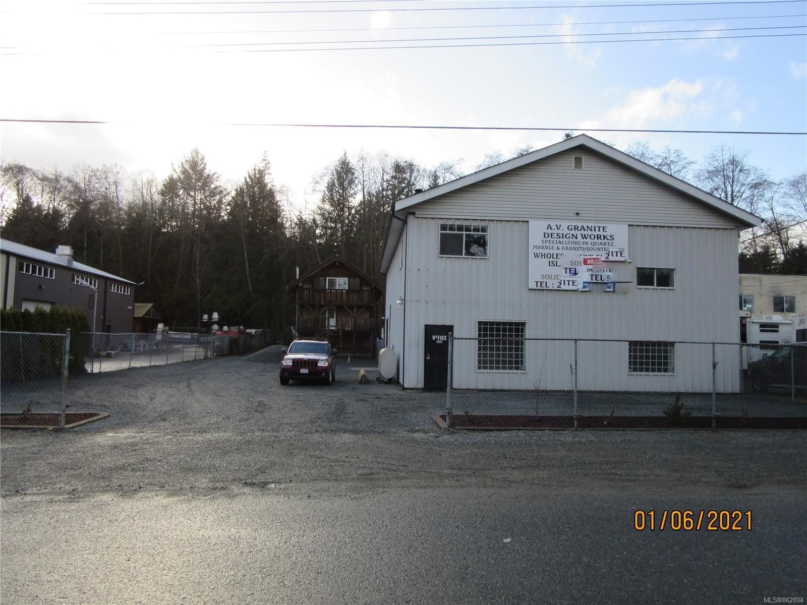 Main Photo: 7439 Industrial Rd in : Na Upper Lantzville Industrial for lease (Nanaimo)  : MLS®# 862804