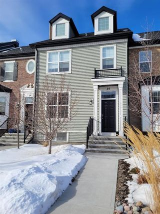 Photo 2: 30 RIVER HEIGHTS Link: Cochrane Row/Townhouse for sale : MLS®# A1071070