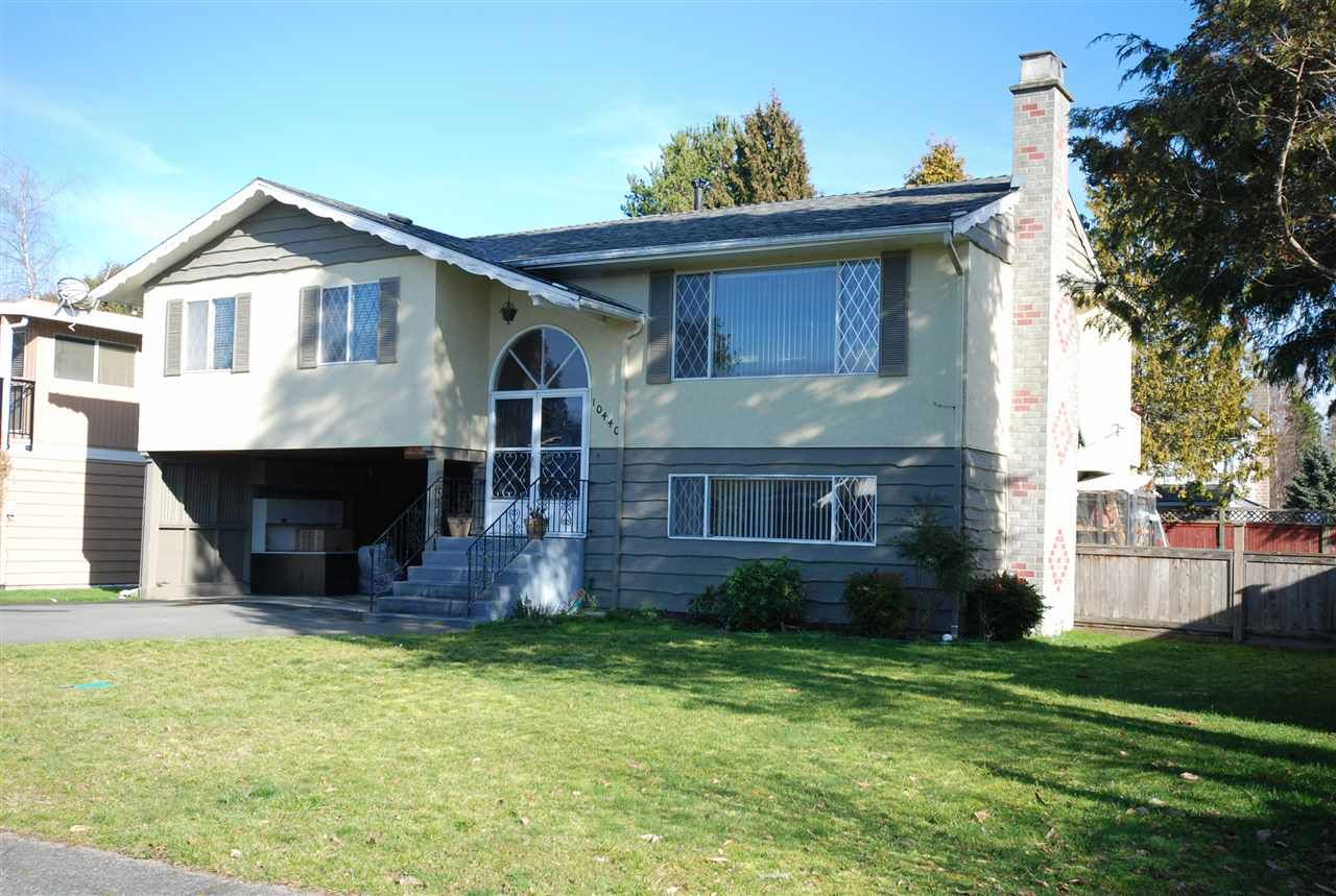 Main Photo: 10440 ALGONQUIN Drive in Richmond: McNair House for sale : MLS®# R2044740