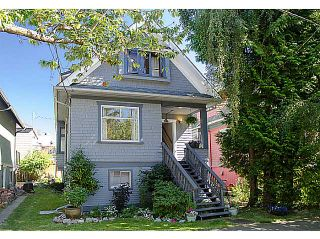 """Photo 1: 1616 SEMLIN Drive in Vancouver: Grandview VE House for sale in """"Commercial Drive"""" (Vancouver East)  : MLS®# V970626"""