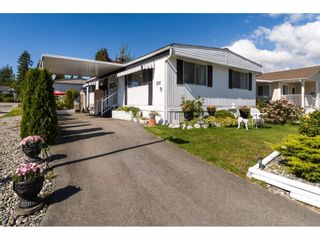 "Photo 1: 258 1840 160 Street in Surrey: King George Corridor Manufactured Home for sale in ""Breakaway Bays"" (South Surrey White Rock)  : MLS®# R2306645"