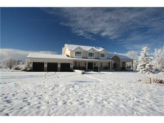 Photo 1: 100 WESTVIEW Estates in CALGARY: Rural Rocky View MD Residential Detached Single Family for sale : MLS®# C3544294