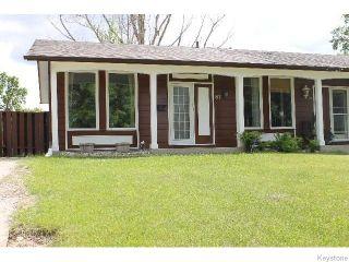 Photo 1: 87 Evenwood Crescent in WINNIPEG: Charleswood Residential for sale (South Winnipeg)  : MLS®# 1516705