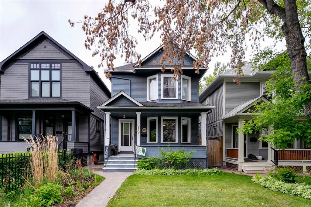 Main Photo: 619 23 Avenue SW in Calgary: Cliff Bungalow Detached for sale : MLS®# A1117331