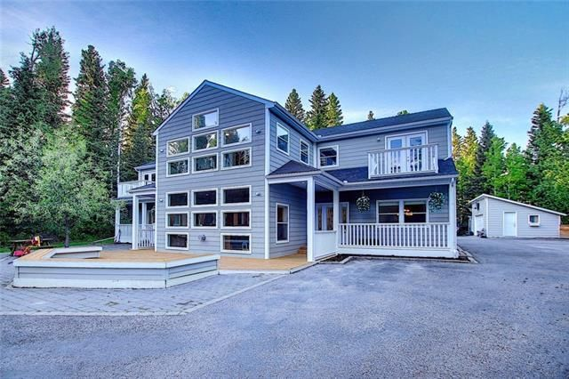 Main Photo: 9 MOUNTAIN LION Place: Bragg Creek Detached for sale : MLS®# A1032262
