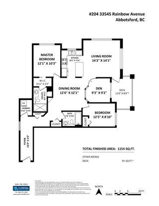"""Photo 21: 204 33545 RAINBOW Avenue in Abbotsford: Central Abbotsford Condo for sale in """"Tempo"""" : MLS®# R2606221"""