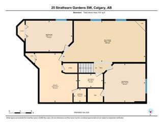 Photo 33: 25 Strathearn Gardens SW in Calgary: Strathcona Park Semi Detached for sale : MLS®# A1045110