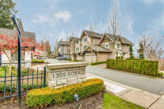 """Photo 1: 18 1305 SOBALL Street in Coquitlam: Burke Mountain Townhouse for sale in """"Tyneridge North by Polygon"""" : MLS®# R2541800"""