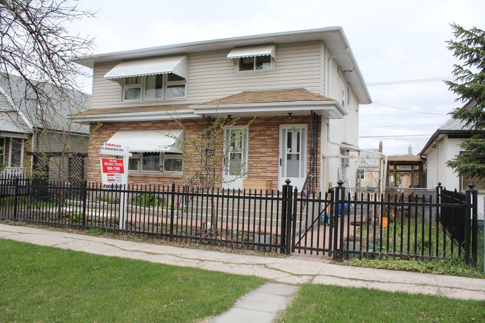 Main Photo: 557 Atlantic Avenue in Winnipeg: Sinclair Park House for sale (4C)  : MLS®# 1512098