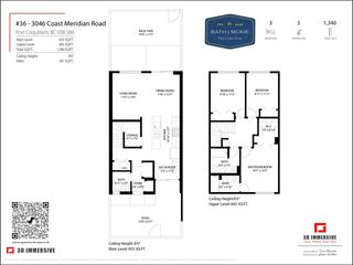 Photo 25: 36 3046 COAST MERIDIAN ROAD in Port Coquitlam: Birchland Manor Townhouse for sale : MLS®# R2573335