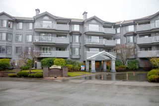 """Photo 1: 301 5375 205 Street in Langley: Langley City Condo for sale in """"GLENMONT PARK"""" : MLS®# R2426917"""