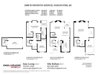 Photo 33: 1089 W 7TH AVENUE in Vancouver: Fairview VW Townhouse for sale (Vancouver West)  : MLS®# R2519757