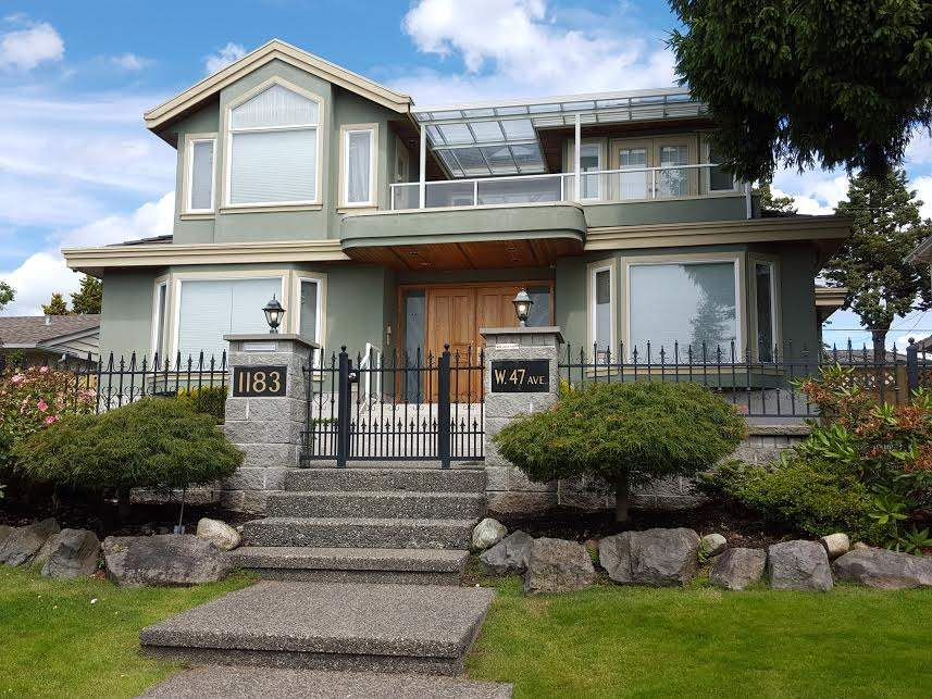Photo 1: Photos: 1183 W 47TH Avenue in Vancouver: South Granville House for sale (Vancouver West)  : MLS®# R2069961