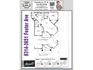 Photo 20: # 314 3651 FOSTER AV in Vancouver: Collingwood VE Condo for sale (Vancouver East)  : MLS®# V1104103
