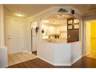 """Photo 7: 201 5556 201A Street in Langley: Langley City Condo for sale in """"Michaud Gardens"""" : MLS®# F1421361"""