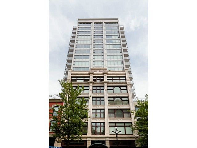 Main Photo: # 1001 668 COLUMBIA ST in New Westminster: Sapperton Condo for sale : MLS®# V1128082
