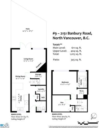 """Photo 22: 9 2151 BANBURY Road in North Vancouver: Deep Cove Townhouse for sale in """"Mariner's Cove"""" : MLS®# R2585688"""