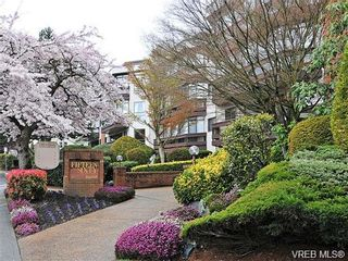 Photo 1: 110 1560 Hillside Ave in VICTORIA: Vi Oaklands Condo for sale (Victoria)  : MLS®# 689216