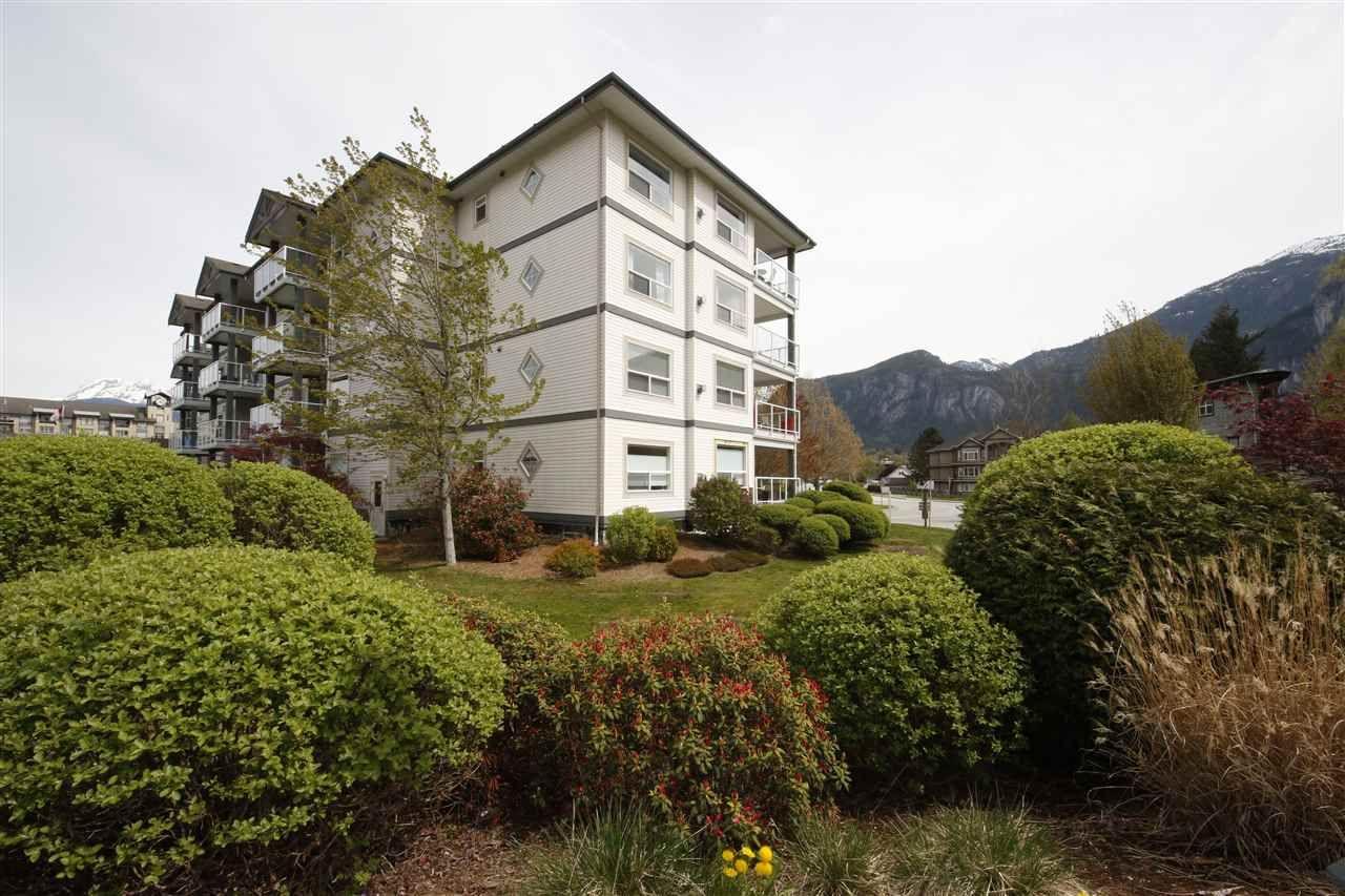 """Main Photo: 212 1203 PEMBERTON Avenue in Squamish: Downtown SQ Condo for sale in """"EAGLE GROVE"""" : MLS®# R2363138"""